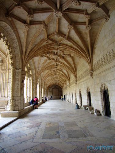 Lisboa - Mosteiro dos Jerónimos (8) Corredores [en] Lisbon - Jeronimos Monastery - Corridors