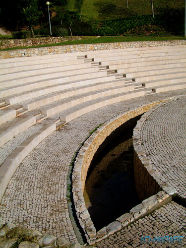 Jardim da Quinta de São Jerónimo (1) Anfiteatro [en] Garden of the Quinta de San Jerónimo - Amphitheatre