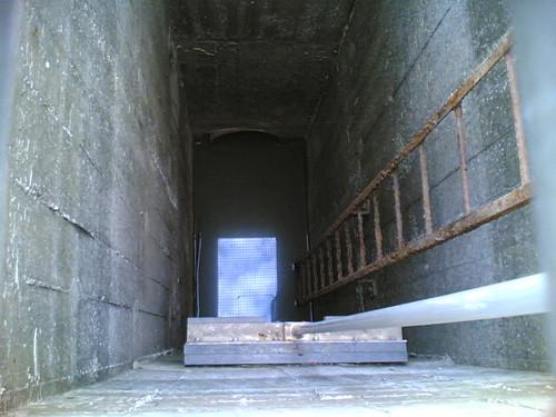 Montemor-o-Velho: Torres de betão (dentro)