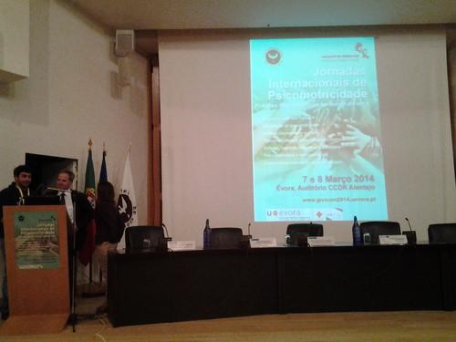 Jornadas Internacionais de Psicomotricidade em Evora/2014