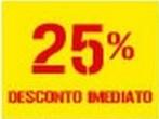 25% de desconto imediato Batata Frita dias 5 e 6 julho