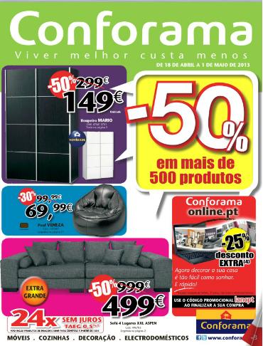 Folheto cat logo conforama novidades campanhas 50 - Nuevo catalogo de conforama ...