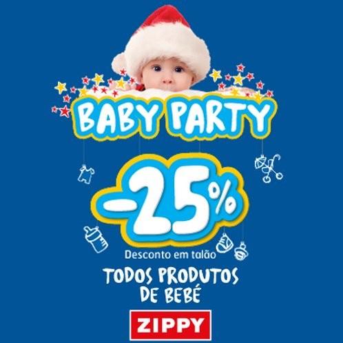 25% desconto   ZIPPY   de 5 a 8 dezembro