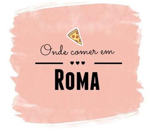 Onde comer em Roma2.JPG