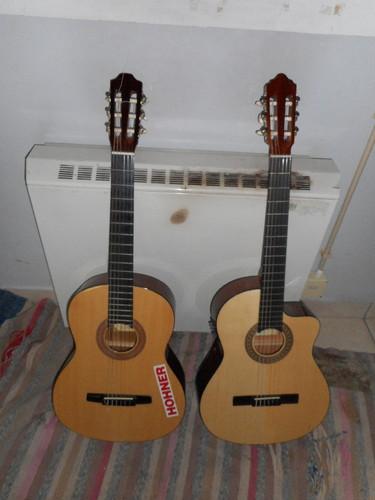 Guitarras classicas de Vasco Gritali