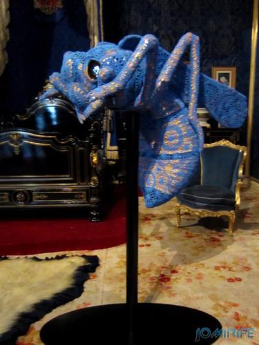 Joana Vasconcelos - Maria Pia 2013 aka Vespa com renda [EN] Maria Pia - Wasp with lace
