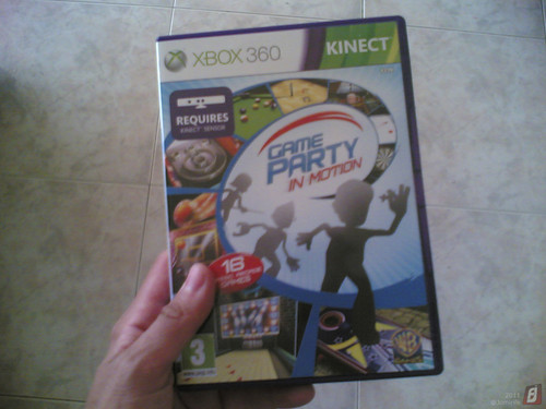 XboX 360 Kinect - Game Party in motion (jogo)