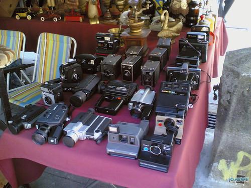 Máquinas antigas de fotografia e filmar (1)
