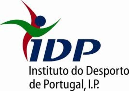 Logo do Instituto de Desportos de Portugal,