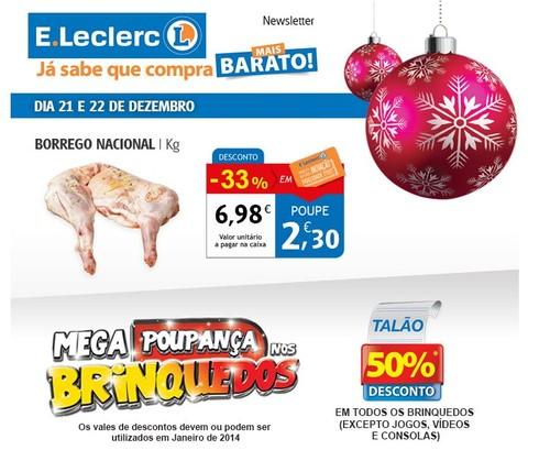 Promoção   E-LECLERC   dias 20 e 21 dezembro