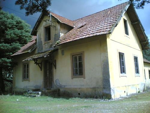 Casa amarela em Santana: Frente