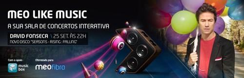 MEO Like Music – David Fonseca abre segunda temporada de concertos