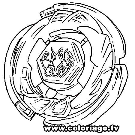 Beyblade para colorir - Dessin beyblade ...