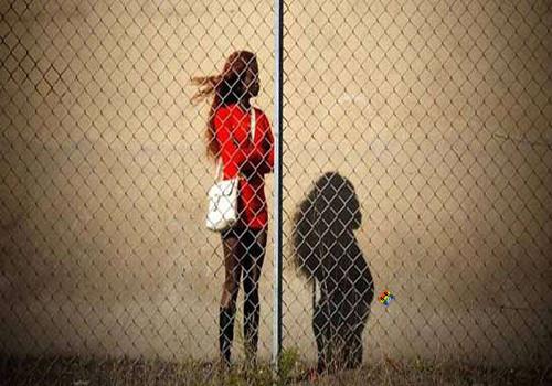 HD Vedação contra entrada de prostitutas em esco