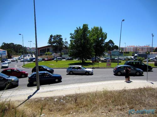 Trânsito congestionado na Figueira da Foz (2) [en] Traffic congestion in Figueira da Foz, Portugal