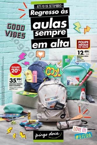 Antevisão Folheto PINGO DOCE Regresso aulas 23 ag