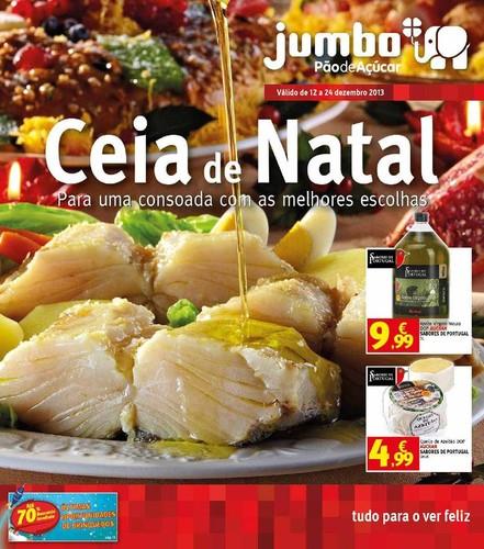 Antevisão folheto | JUMBO | Ceia de natal de 12 a 24 dezembro