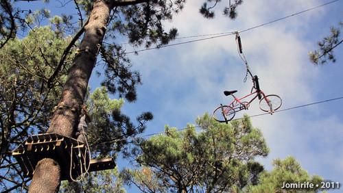Parque Aventura: Bicicleta