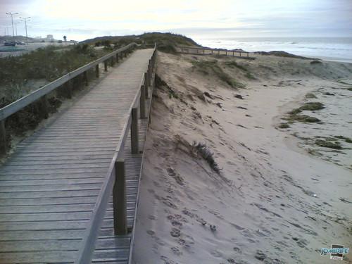 Temporal na praia do Cabedelo - Passadeira