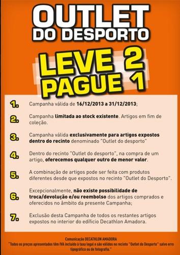 Leve 2 Pague 1   DECATHLON   Amadora de 16 a 31 dezembro