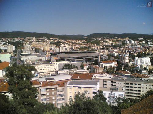 Estádio e Cidade de Coimbra visto do Penedo