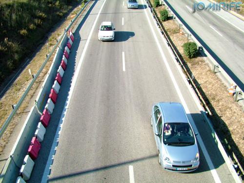 Carros na Autoestrada A14