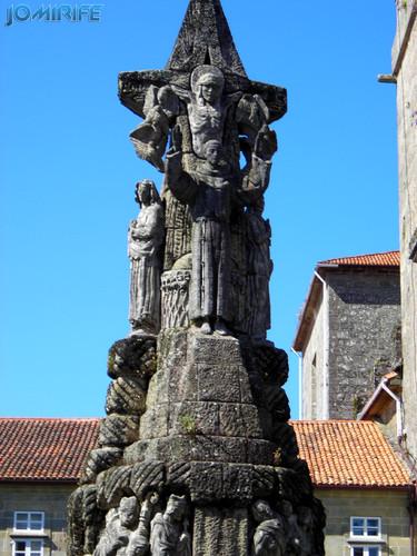 Santiago de Compostela (14) Estatua de Cristo