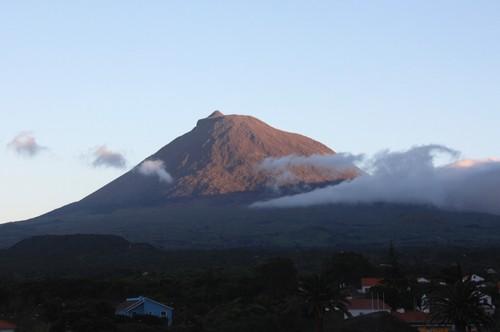 A montanha...ontem ao fim da tarde