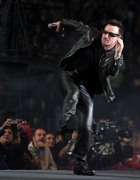 U2 no Estádio de Coimbra Foto: Lusa