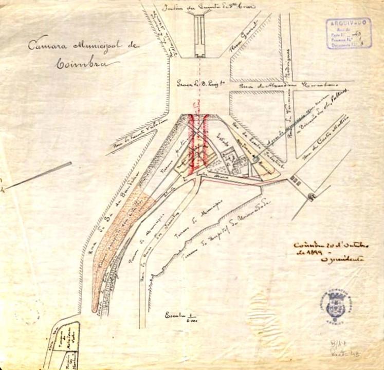 Fig. 11. Um dos projetos de urbanização do Bairr