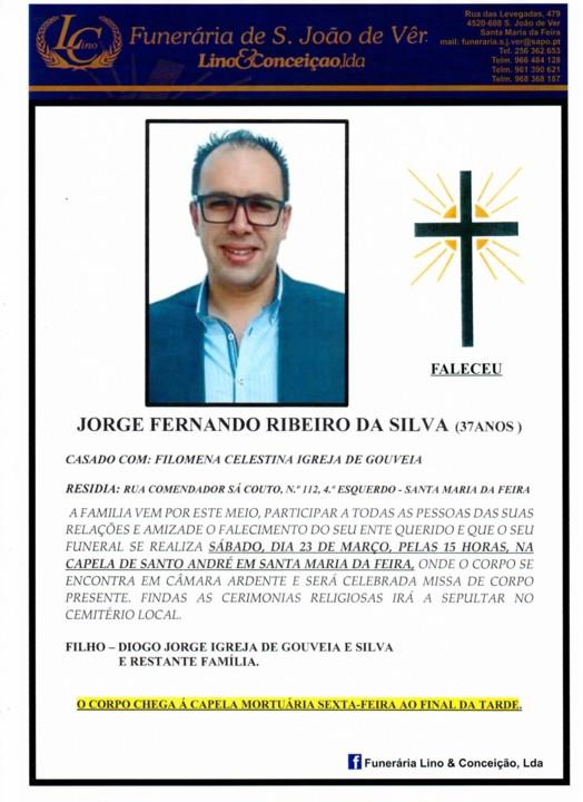 Descansa em Paz Jorge Silva