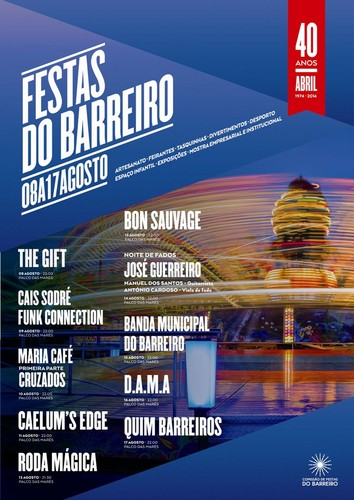FESTAS do BARREIRO 2014, de 8 a 17 de AGOSTO |