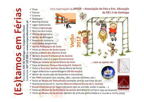 (ES) TAMOS EM FÉRIAS - VERÃO 2012