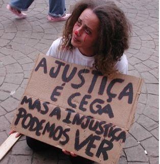 A justiça é cega