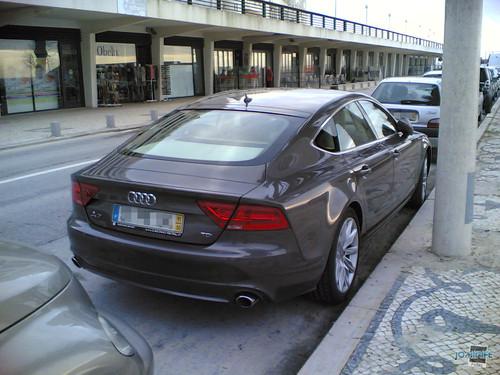 Audi A7 na Figueira da Foz