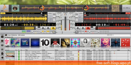 Programa de Dj gratuito, CrossDJ grátis software free