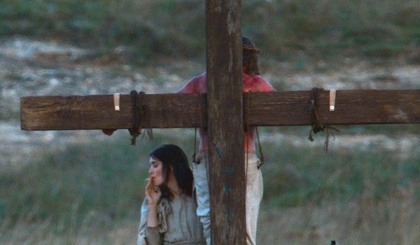 Rooney Mara As Mary Magdalene Smoking A Cigarette