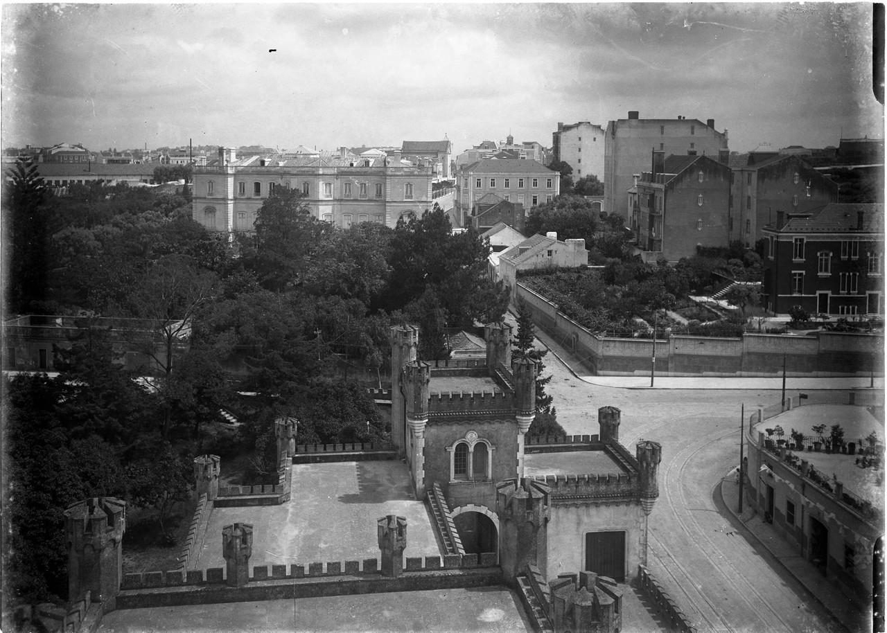 Parque José Maria Eugénio, 1910, foto de Joshua
