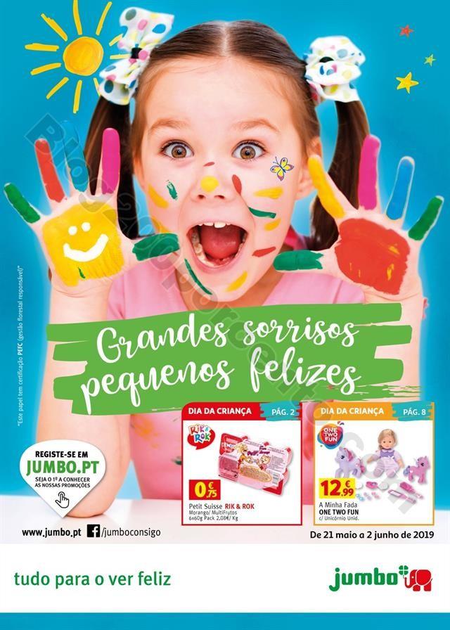 Antevisão Folheto JUMBO Dia da Criança + Promoç