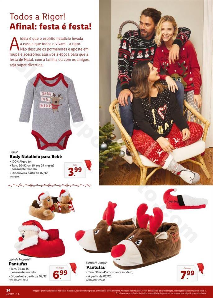 Folheto LIDL Presentes de Natal 11  novembro p34.j
