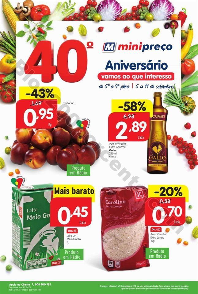 Antevisão Folheto MINIPREÇO Lojas Grandes promo