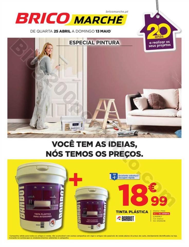 Antevisão Folheto BRICOMARCHÉ Promoções de 25