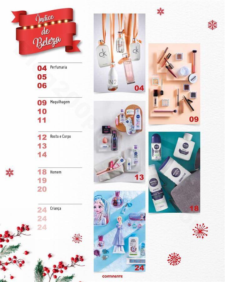 Natal em beleza CONTINENTE 29 outubro a 15 novembr
