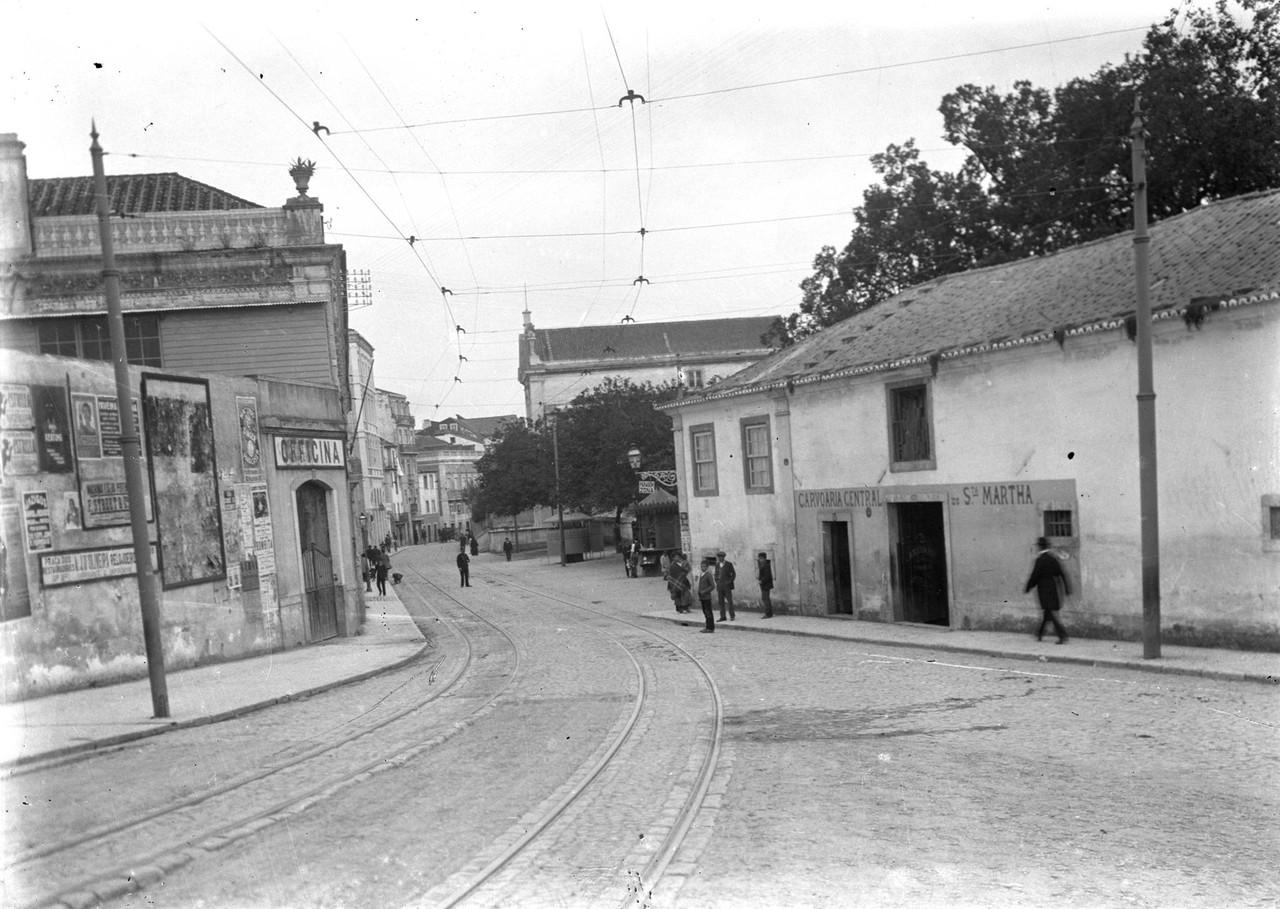 Rua de Santa Marta, 1944, foto de Eduardo Portugal