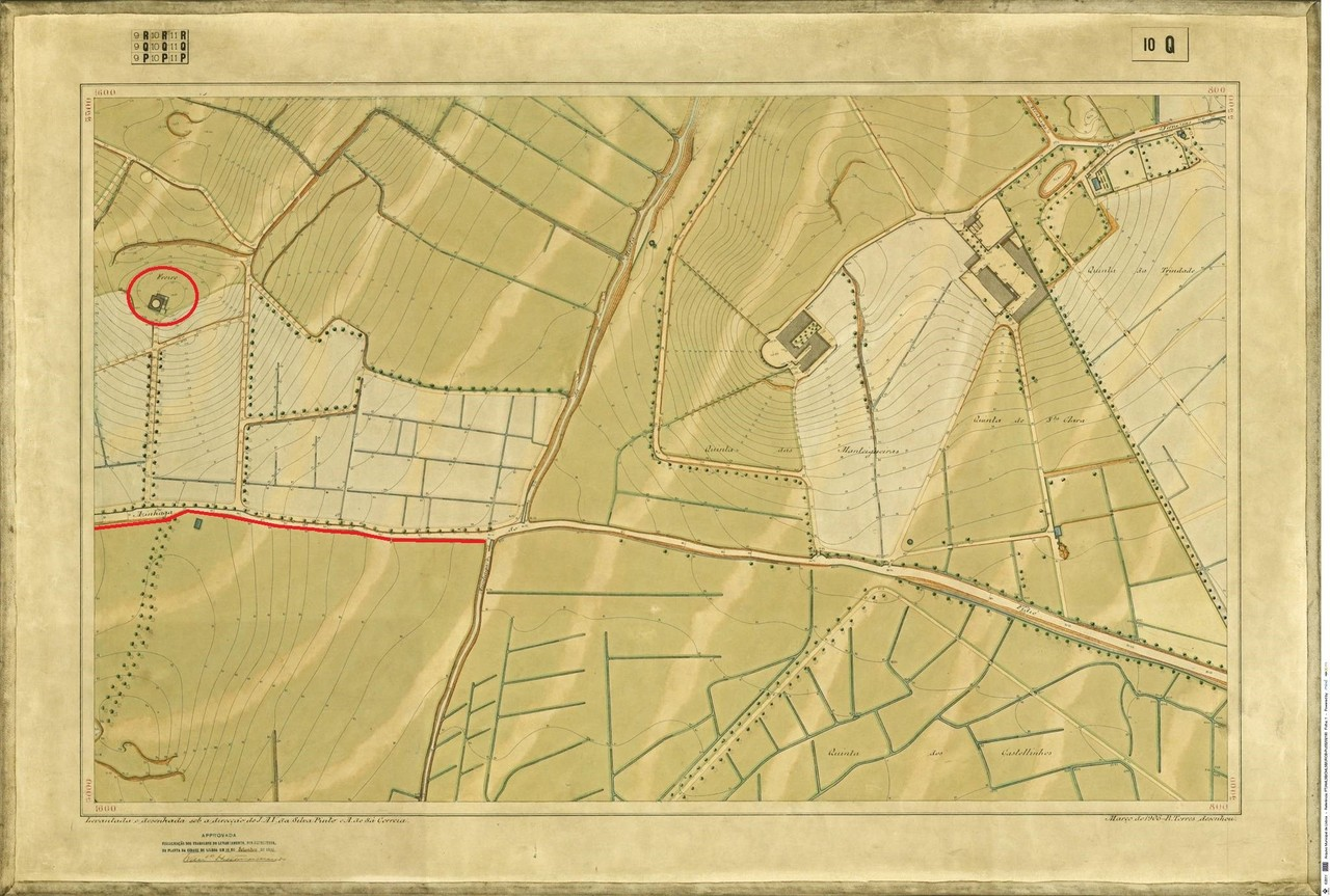 Planta Topográfica de Lisboa  10 Q, 1906, de Albe