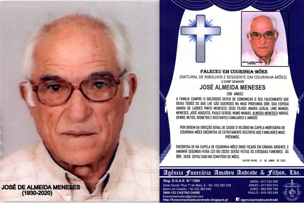 FOTO DE JOSÉ DE ALMEIDA  MENESES-89 ANOS (COURINH