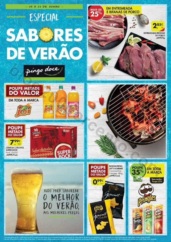 Antevisão Folheto PINGO DOCE Verão Promoções d