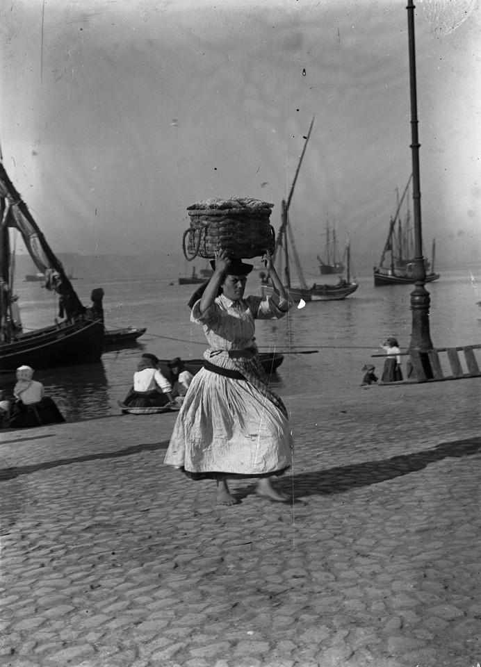 Varina, na Ribeira Nova, 1909, foto de Joshua Beno