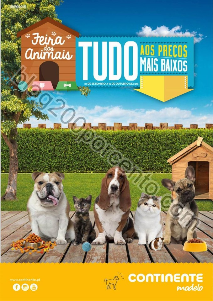 Antevisão Folheto MODELO Feira dos animais de 27