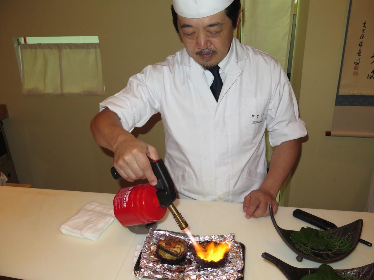 Tomoaki Kanazawa e o maçarico